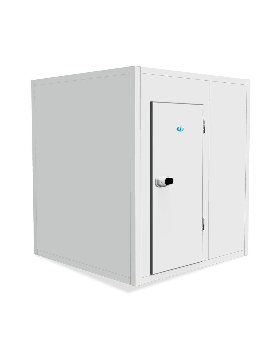 Chambres froides modulaires avec poteaux d'angles