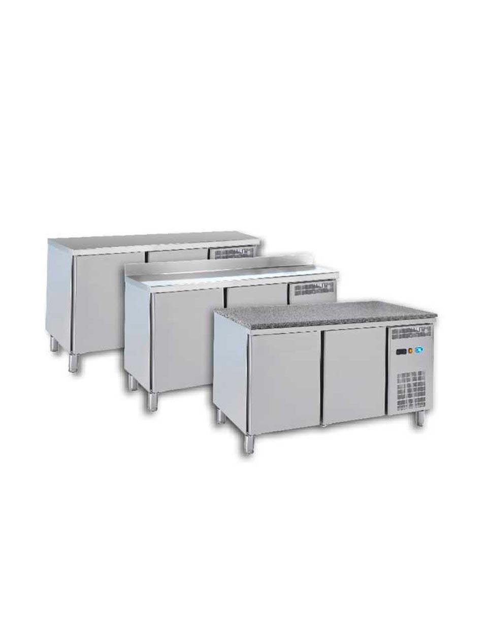 Euronorme - Froid statique/ventilé Commutable - Groupe extractible - Prof. 800 mm